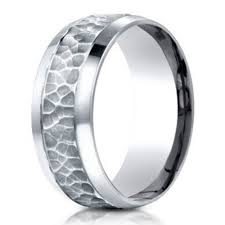 palladium ring price men s palladium band in hammered finish 7 5mm just men s rings