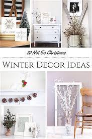 20 Winter Decorating Ideas Not For Christmas shabbyfufu