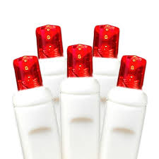 beautiful design red and white led christmas lights c9 cool