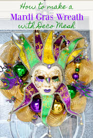 mardi gras deco mesh diy mardi gras deco mesh ribbon wreath tutorial