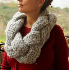 braided scarf items similar to oversized knit scarf infinity scarf braided