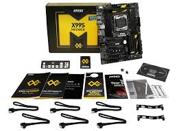 in the box test setup and overclocking msi x99s mpower review