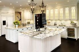 Kitchen Ideas With White Cabinets Kitchens With White Cabinets And Granite Countertops