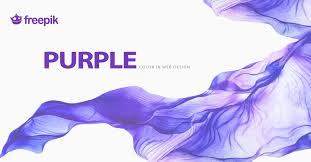 purple color meaning templatemonster infographic purple color in web design psychology
