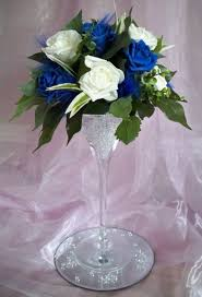 Blue Vases For Wedding Best 25 Martini Glass Centerpiece Ideas On Pinterest Diy