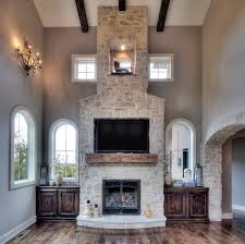 stone veneer fireplace inside the natural choice for your home remodel design 9