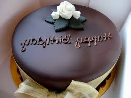 happy birthday special chocolate cake decorating of party