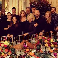 joan rivers and steven celebrate thanksgiving
