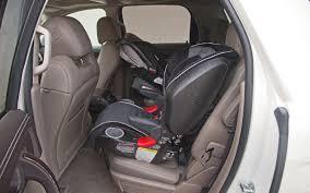 Gmc Acadia Denali Interior 2013 Gmc Acadia Denali Backseat Britax Booster Seat Photo
