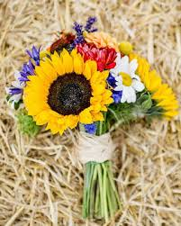 sunflower wedding bouquet bridal bouquet summer wedding bouquet ideas rustic wedding