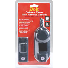 Outdoor Timer For Lights by Do It Outdoor Timer With Remote Kb 200ew Do It Best