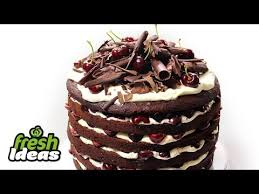 Christmas Cake Decorations Woolworths by Black Forest Cake Recipe Quick And Easy At Woolworths Com Au