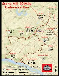 Stone Mountain Map Stone Mill 50 Nov 17 2018 6am Stone Mill 50 Mile Run