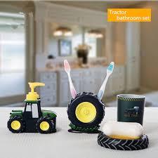 kids bathroom sets personality tractor kit para banheiro high