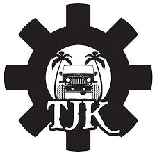 jeep logo black tjk logo stickers 5