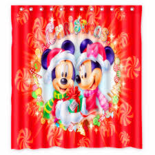 Red Mickey Mouse Curtains Bathroom Mickey Mouse Shower Curtain Mickey Shower Curtain