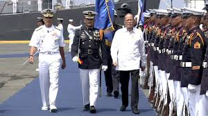 Flag Officer In Command Philippine Navy 118th Phil Navy Anniversary Arrival Honors 6 1 2016 Youtube