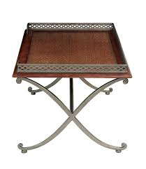 Elegant Coffee Tables by Elegant Coffee Table With Inset Grass Cloth Top Under Glass