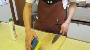 care of japanese knives the aritsugu way mov youtube