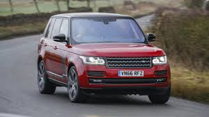 red land rover range rover svautobiography dynamic review top gear