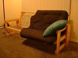wooden futon charming traditional futon interior design featuring