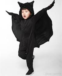 child animal cosplay cute bat costume kids halloween costumes for