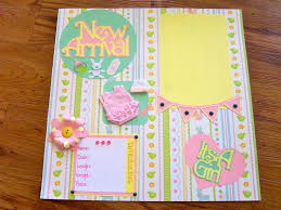 baby girl scrapbook album 35 best scrapbook images on baby girl scrapbook