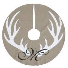 antlers christmas tree skirts zazzle