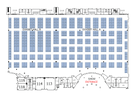 chirpe national physician conference u0026 trade show 2017 floorplan