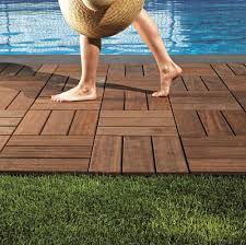 outdoor wood flooring is instant and offers a great solution for