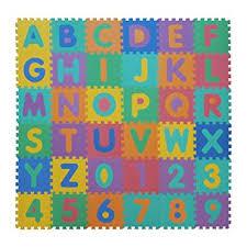 tappeti puzzle velovendo tappeto puzzle lettere numeri in soffice schiuma