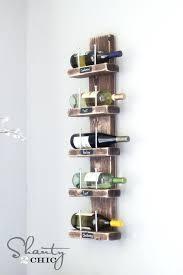 wall mounted wine glass rack canada wall hanging wine rack