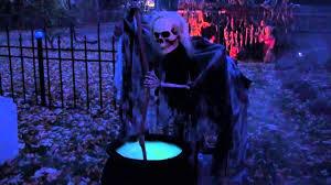 halloween yard display 2014 youtube