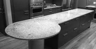granite countertop painted white oak kitchen cabinets top