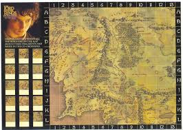 Lord Of The Rings Map Tolkien Boardgames Lotr Activity Game Pk