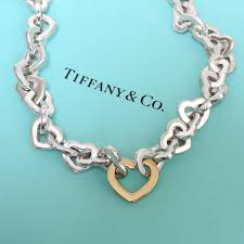 sterling silver necklace tiffany images Tiffany interlocking hearts sterling silver necklace the jewelry box jpg