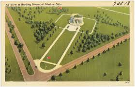 Map Of Marion Ohio by Air View Of Harding Memorial Marion Ohio Digital Commonwealth