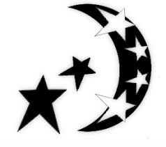 andriaj89 star moon tattoos designs