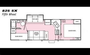 prowler cer floor plans collection of prowler fifth wheel floor plans full specs for