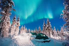 norway northern lights igloo northern lights luxury short break or honeymoon at kakslauttanen resort
