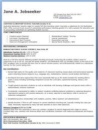 Creative Teacher Resume Templates Cover Letter Examples For Elementary Teachers