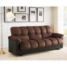 Futon Sofa Bed With Storage Futon Sofa Bed With Storage Wayfair