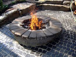 How To Build A Stone by How To Build A Round Stone Fire Pit How Tos Diy
