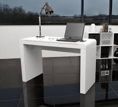 Schreibtisch Schmal Holz Ac Design Furniture 40902 Schreibtisch Julie Holz Lack Weiß