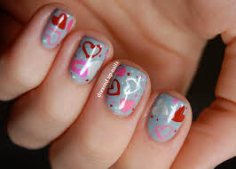 nail art valentine beautify themselves with sweet nails