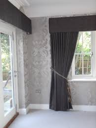 Should Curtains Touch The Floor Or Window Sill Full Length Curtains With Pelmet Should Resolve Light Leak Top