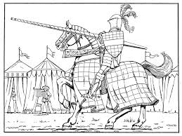 ingenious ideas medieval coloring pages medieval knights coloring