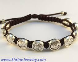 catholic bracelets catholic bracelet etsy