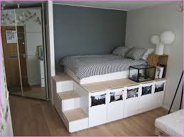 Build A Platform Bed With Storage Underneath by King Platform Bed With Drawers Plans King Platform Bed With
