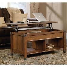 cherry lift top coffee table coffee table imposing sauder carson forge lift top coffee table